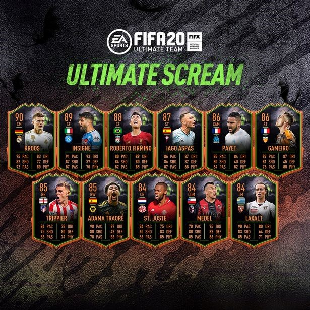 FIFA 20 Scream Cards Halloween Card