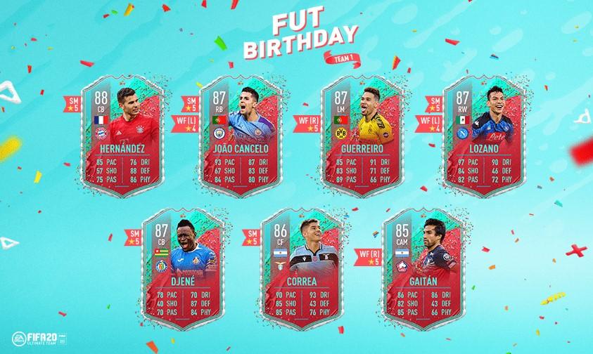 FIFA Birthday Cards