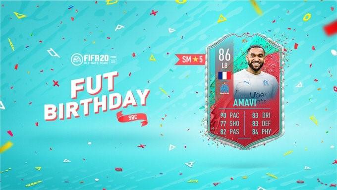 FIFA Birthday Card AMAVI 86