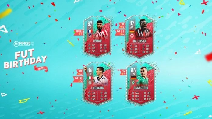 FIFA Birthday Card FUT 20