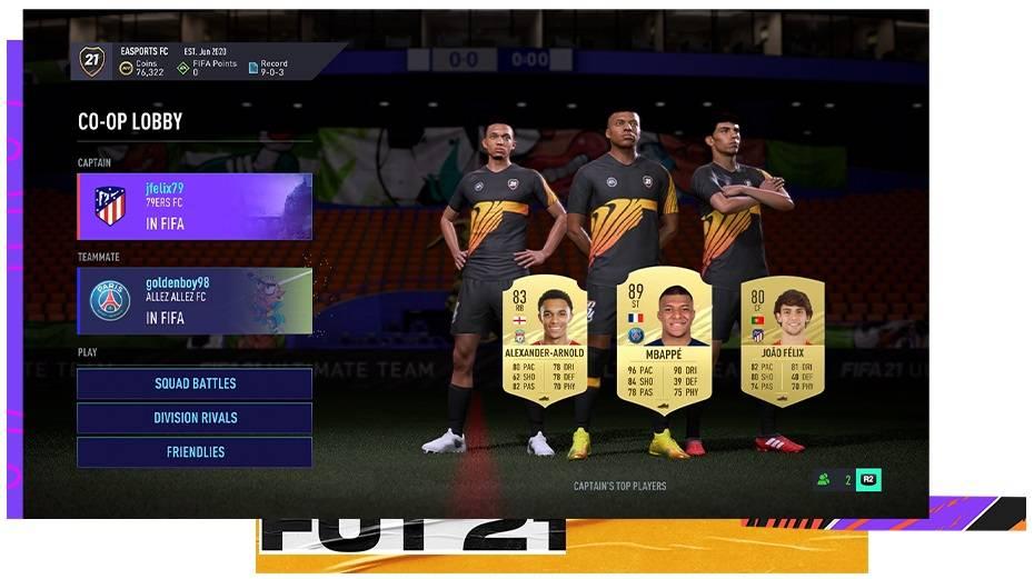 FIFA 21 Coop Mode