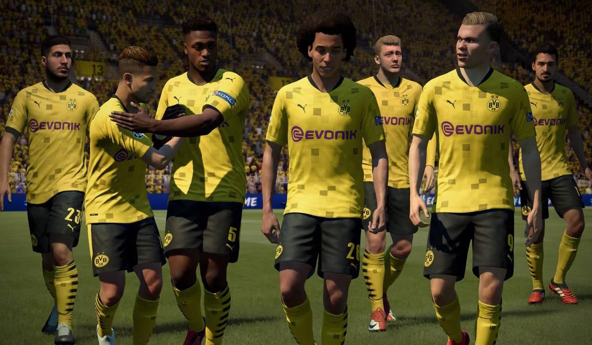 dortmund greatest fifa 21 teams five star