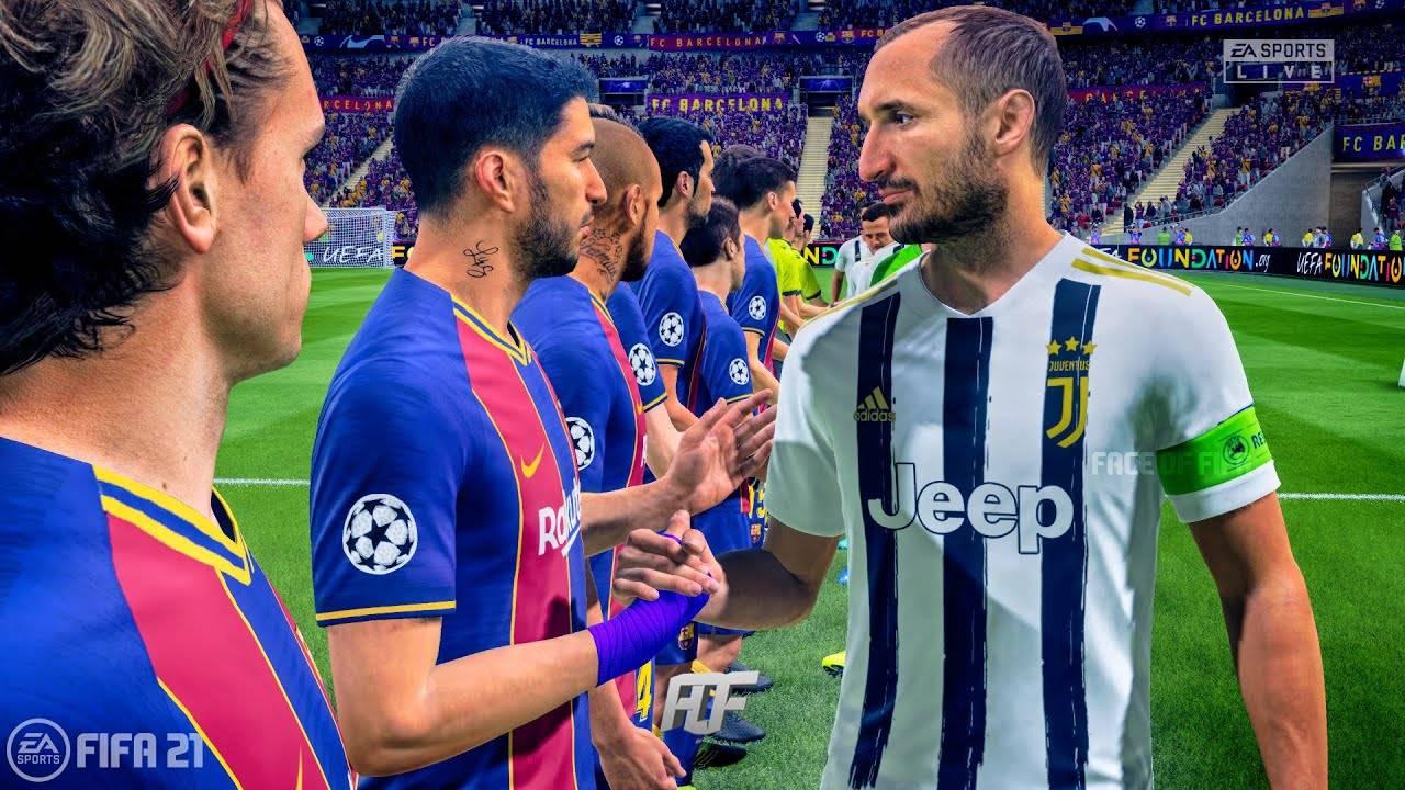 Barcelona top FIFA 21 teams five star