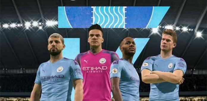 Man City top FIFA 21 teams