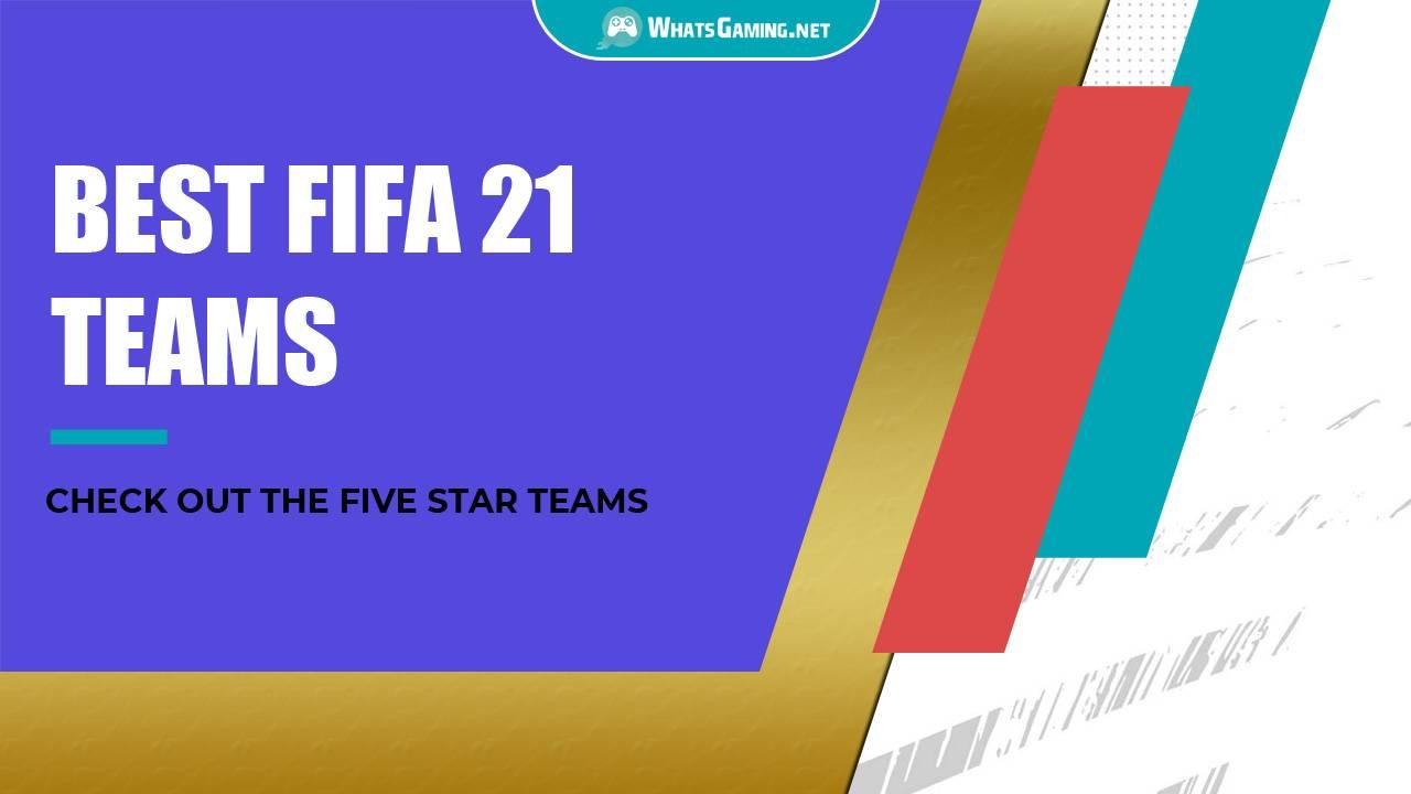 Best Teams in FIFA 21