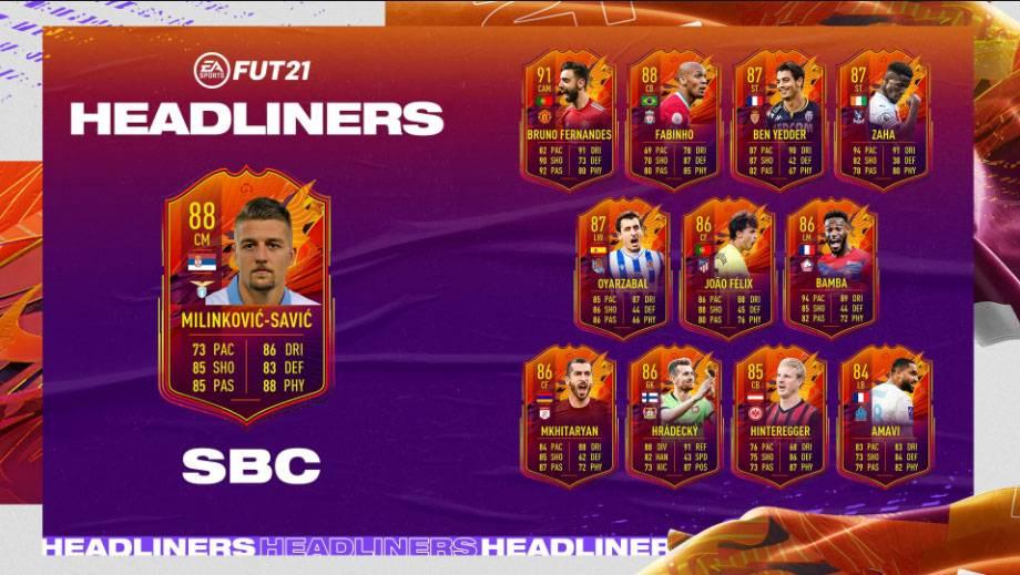 FIFA 21 Headliner