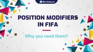 Modificatori di posizione in FIFA: tutto ciò che devi sapere