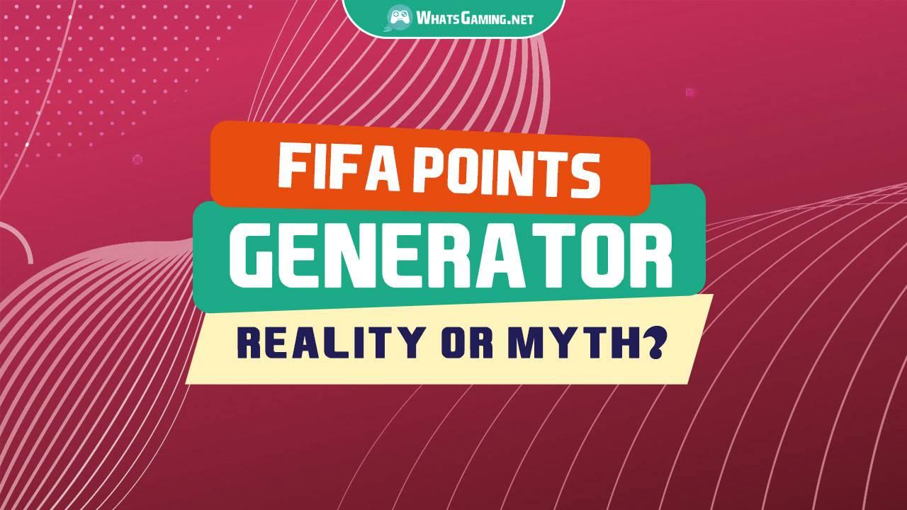 FIFA POINTS GENERATOR