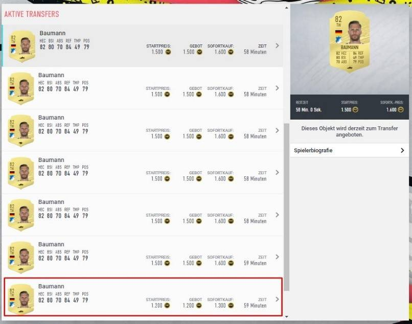 FIFA Coins Cluster Trading