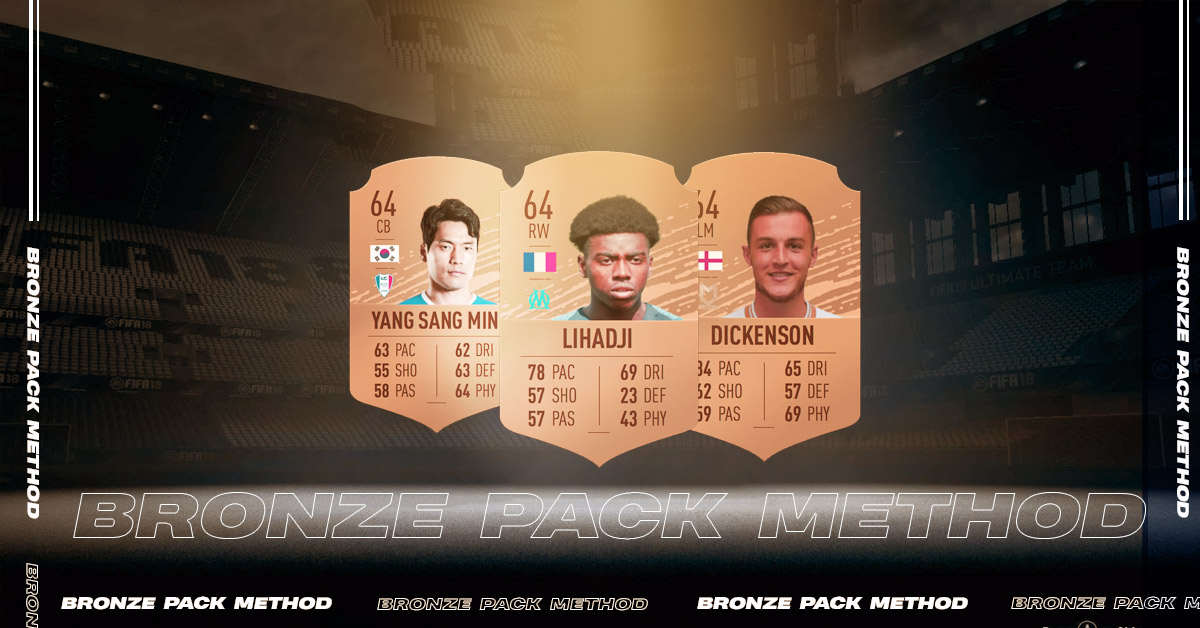 Bronze Pack Method to Make Coins in FIFA