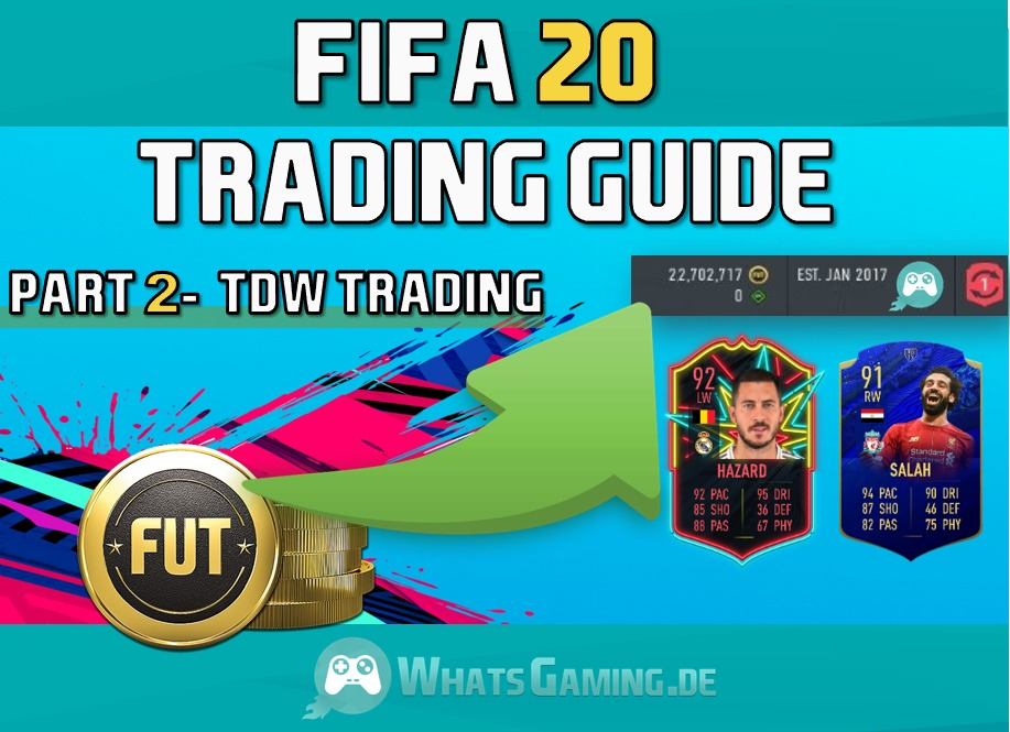 Advanced tutorial in FUT Team of the Week Trading