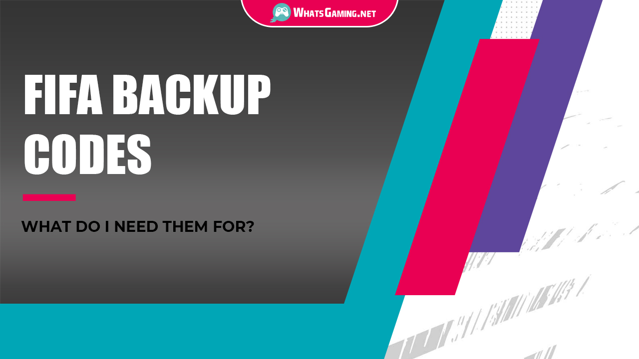 what is fifa backup code
