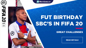 FUT BIRTHDAY FIFA 20 - WhatsGaming Tutorials