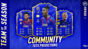 FIFA 20 - Predictions for the TOTSSF
