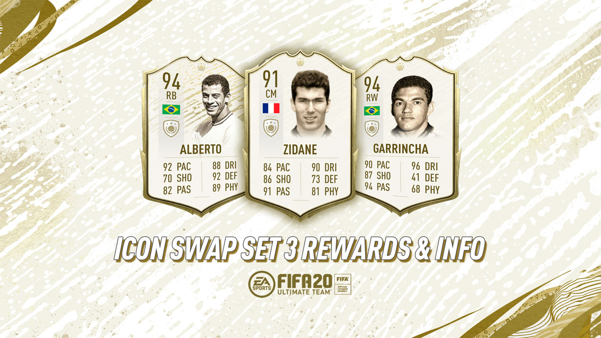 Icon Swap players in FIFA icons